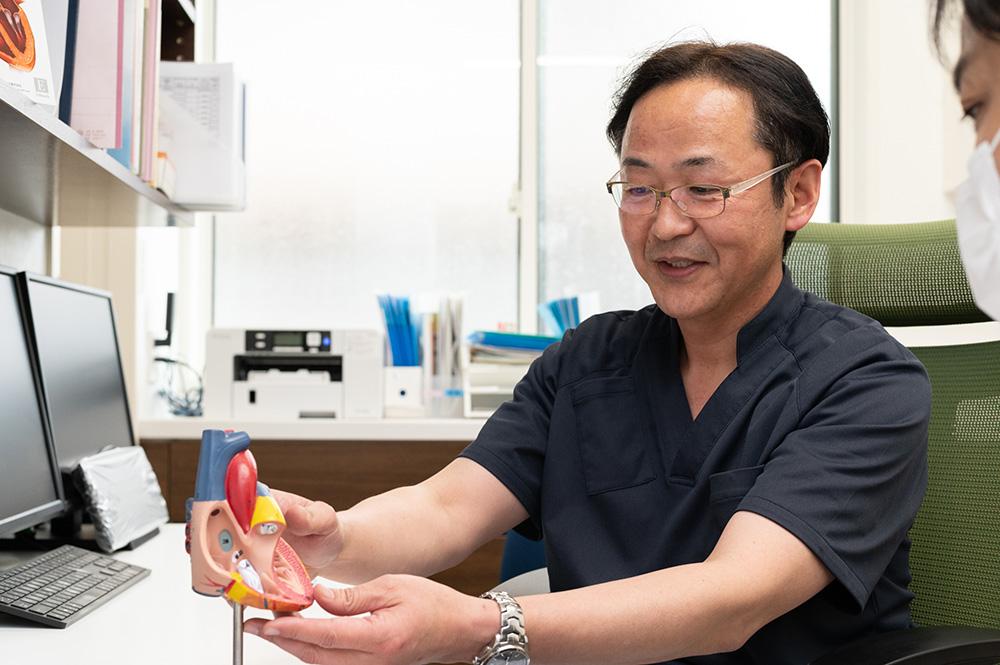総合内科専門医・不整脈専門医・循環器専門医の医師が正確な診断と丁寧な説明をいたします